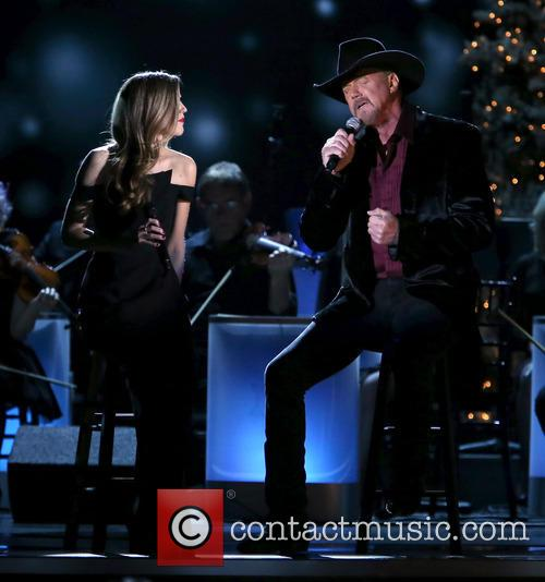 Lily Costner and Trace Adkins 18