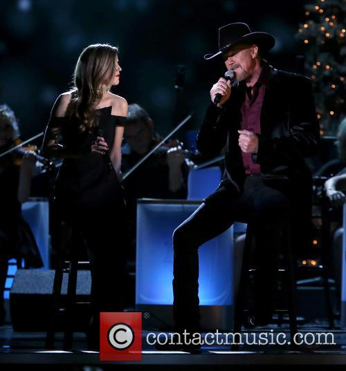 Lily Costner and Trace Adkins 19
