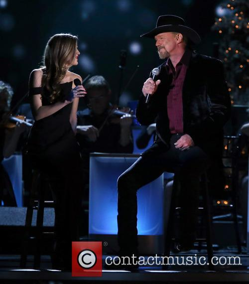 Lily Costner and Trace Adkins 20