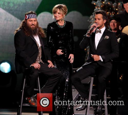 Willie Robertson, Jennifer Nettles, Luke Bryan, Bridgestone Arena
