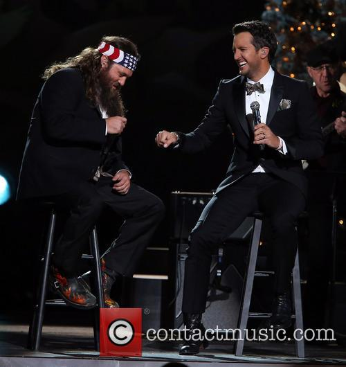 Willie Robertson and Luke Bryan 2
