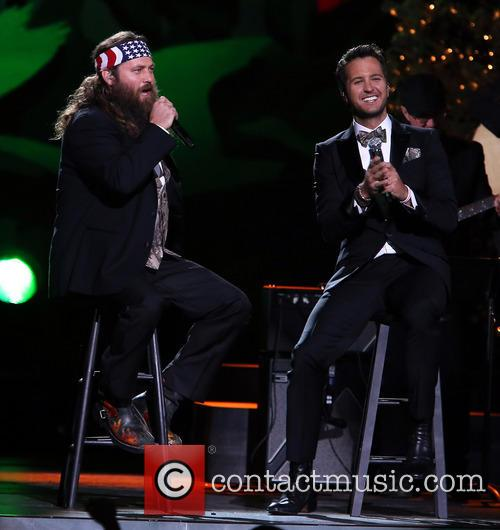 Willie Robertson and Luke Bryan 3