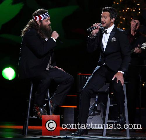 Willie Robertson and Luke Bryan 6