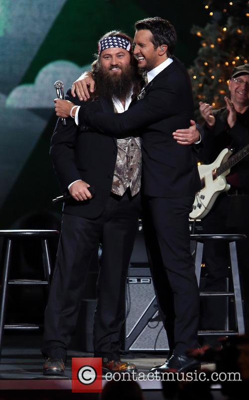 Willie Robertson and Luke Bryan 7