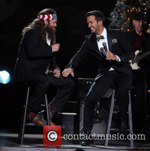 Willie Robertson and Luke Bryan 9
