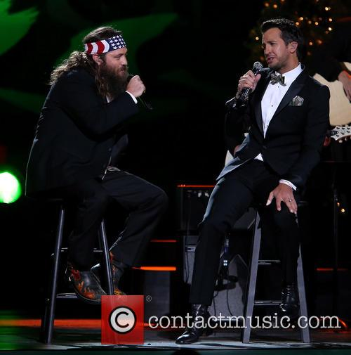 Willie Robertson and Luke Bryan 12
