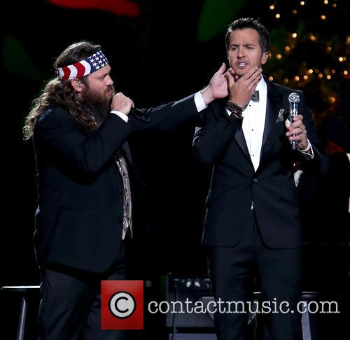 Willie Robertson and Luke Bryan 14