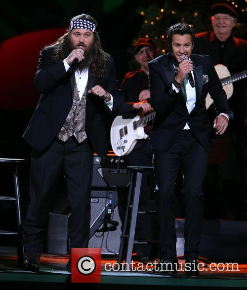 Willie Robertson and Luke Bryan 17