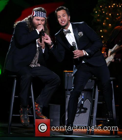 Willie Robertson and Luke Bryan 18