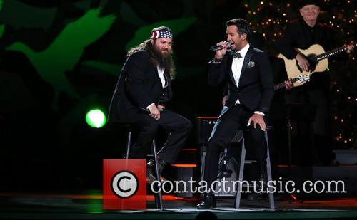 Willie Robertson and Luke Bryan 21