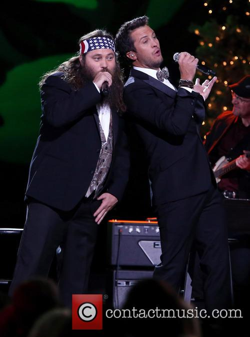 Willie Robertson and Luke Bryan 23