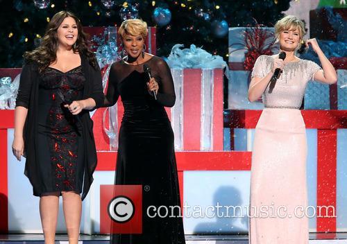 Hillary Scott, Mary J. Blige and Jennifer Nettles 1
