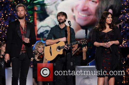 Lady Antebellum, Charles Kelley, Dave Haywood and Hillary Scott 1