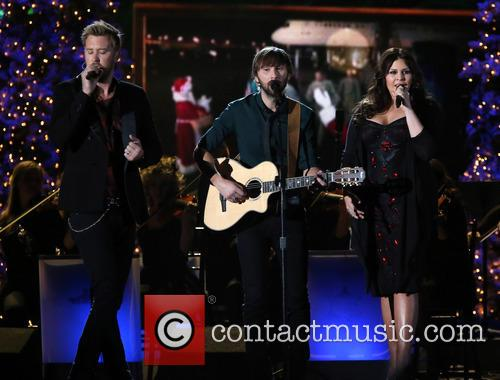 Lady Antebellum, Charles Kelley, Dave Haywood and Hillary Scott 2