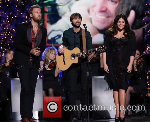 Lady Antebellum, Charles Kelley, Dave Haywood and Hillary Scott 3