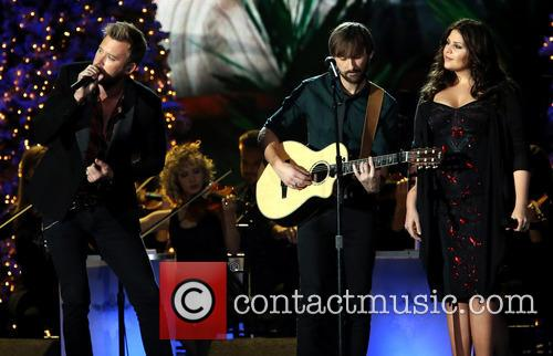 Lady Antebellum, Charles Kelley, Dave Haywood and Hillary Scott 5