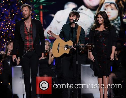 Lady Antebellum, Charles Kelley, Dave Haywood and Hillary Scott 7