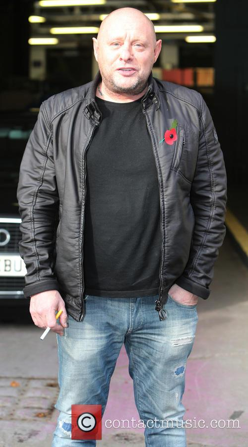 shaun ryder celebrities at the itv studios 3942315
