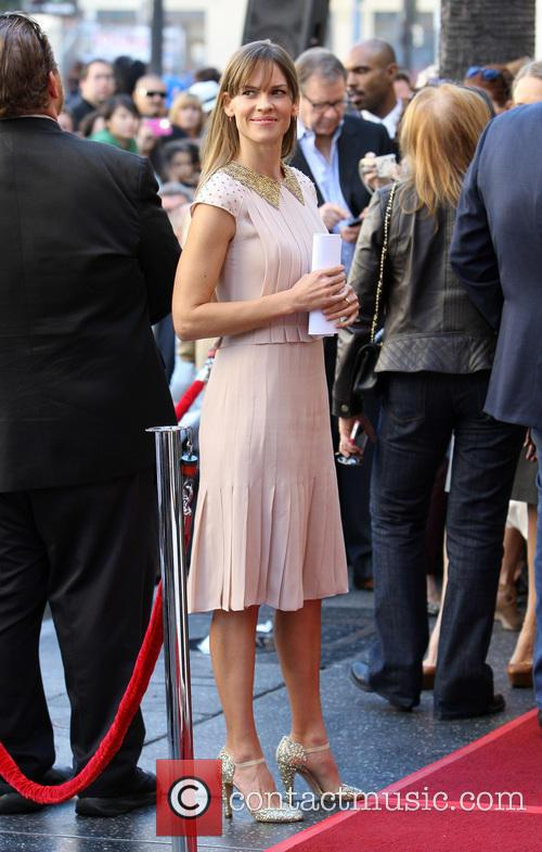 Hillary Swank, On The Hollywood Walk Of Fame