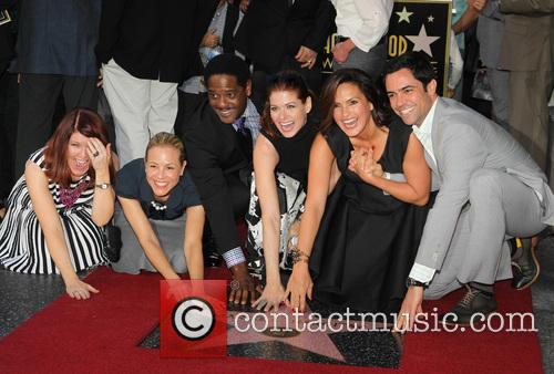 Kate Flannery, Maria Bello, Blair Underwood, Debra Messing, Mariska Hargitay and Danny Pino 1