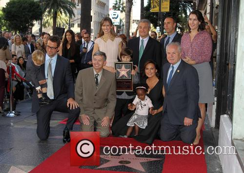 Peter Hermann, Leron Gubler, Hillary Swank, Mariska Hargitay and Tom Labonge 8