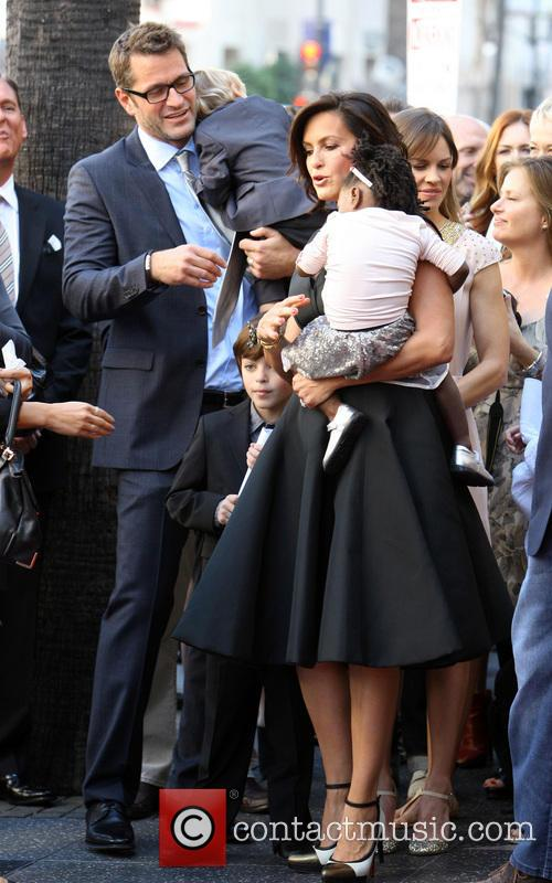 Peter Hermann, Mariska Hargitay, Amaya and And Children 4