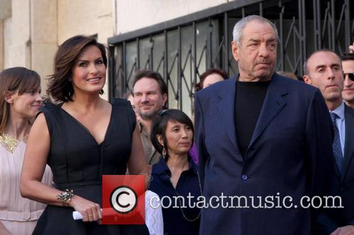 Mariska Hargitay, Dick Wolf, Hollywood Walk of Fame