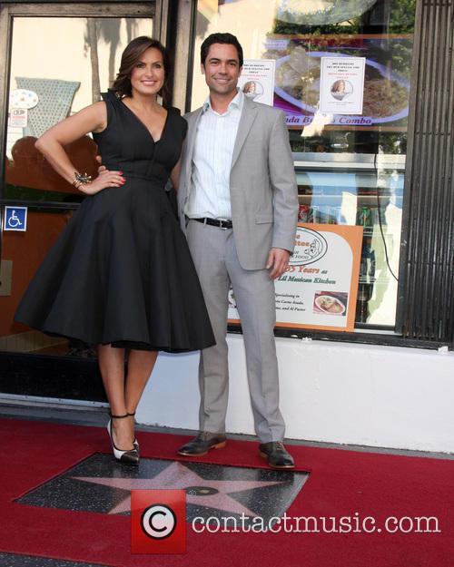 Mariska Hargitay, Danny Pino, Hollywood Walk of Fame