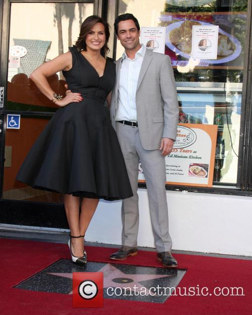 Mariska Hargitay and Danny Pino 2