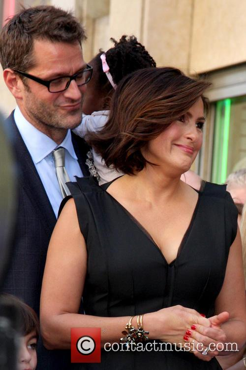 Mariska Hargitay Walk of Fame Star Ceremony