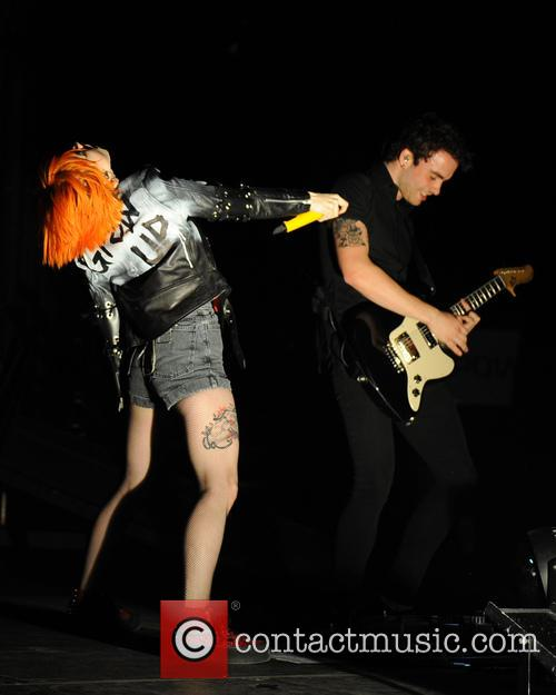 Hayley Williams and Taylor York 1