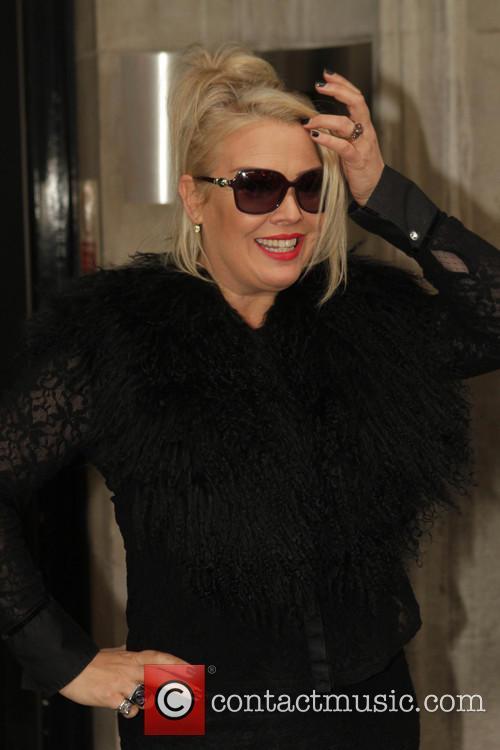 Celebrities seen at the BBC Radio 2 studios.