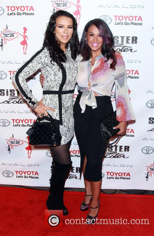 Las Vegas, Shamicka Lawrence and Sheree Fletcher 2