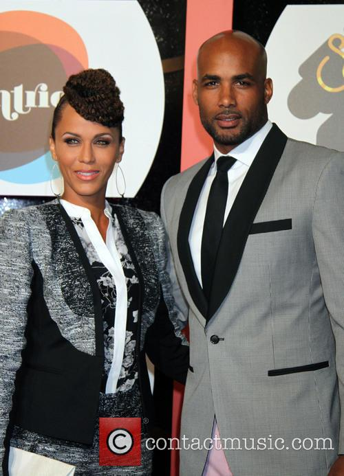 Nicole Ari Parker and Boris Kodjoe 1