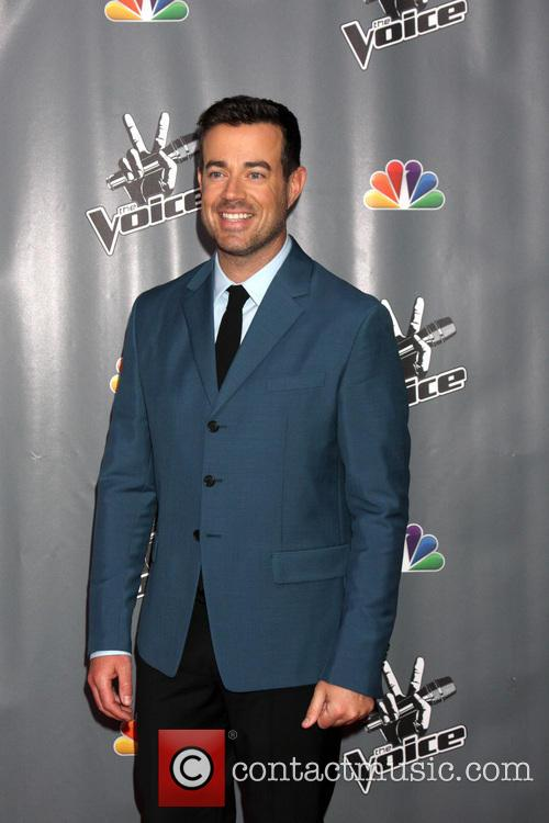 carson daly the voice judges photocall season 3941607