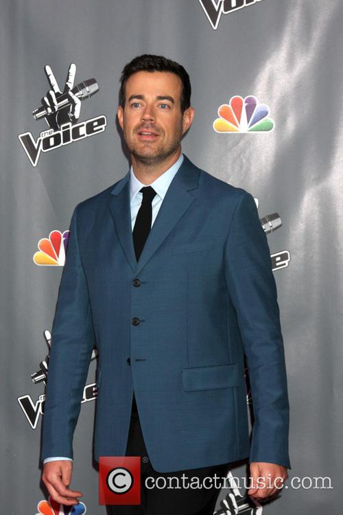 carson daly the voice judges photocall season 3941621
