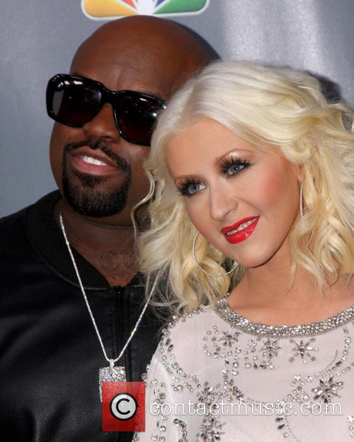 Ceelo Green and Christina Aguilera 4