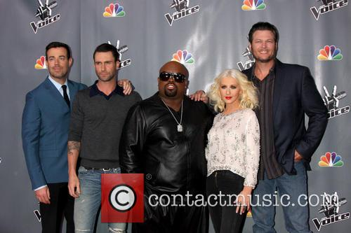 christina aguilera blake shelton carson daly ceelo green the voice 3941619