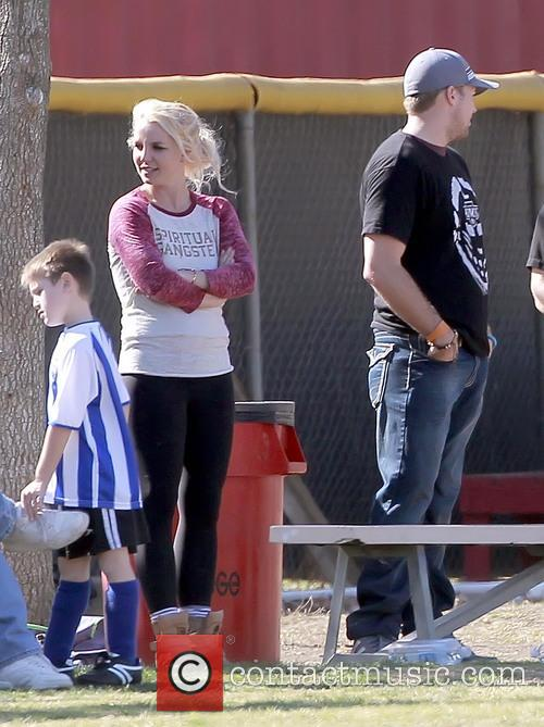 Britney Spears and David Lucado 8