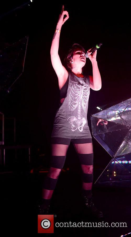 Krewella performs in Miami Beach