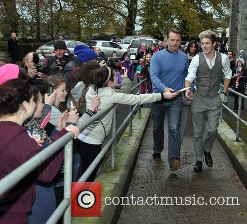 Niall Horan of One Direction arrives at St...