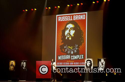 Russell Brand on comedy world tour