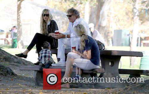 Rod Stewart, Kimberley Stewart, Penny Lancaster-stewart and Delilah Del Toro 10