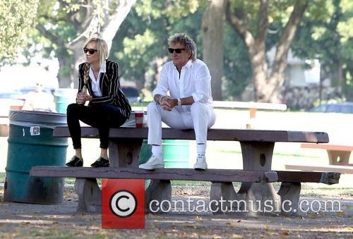 Rod Stewart and Kimberley Stewart 7