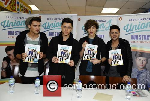 Union J book signing
