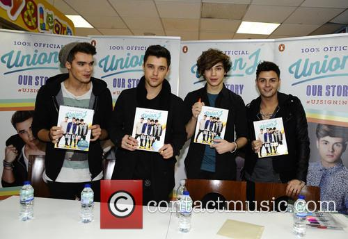 Union J meet fans and sign copies of...