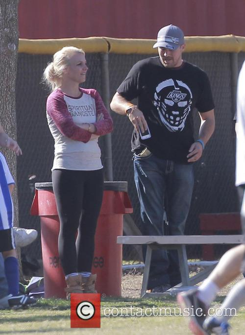 Britney Spears and David Lucado 9