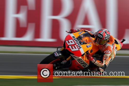 Valencia and Marc Marquez 9