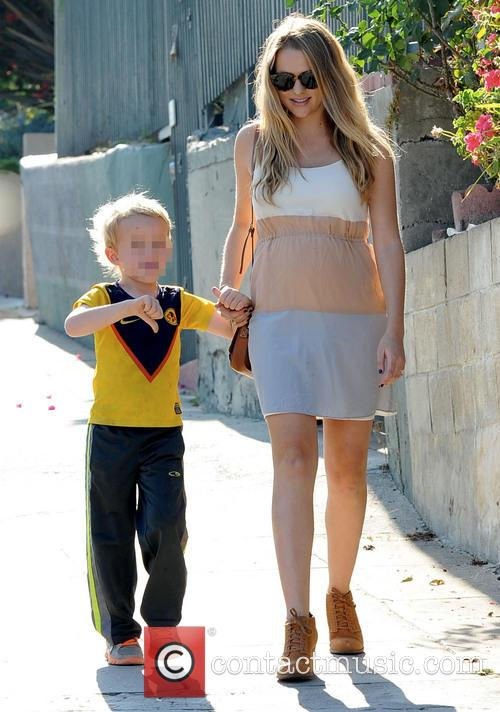 Teresa Palmer spends the day with her nephew
