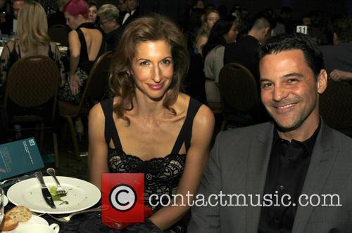 Alysia Reiner and David Alan Basche 4